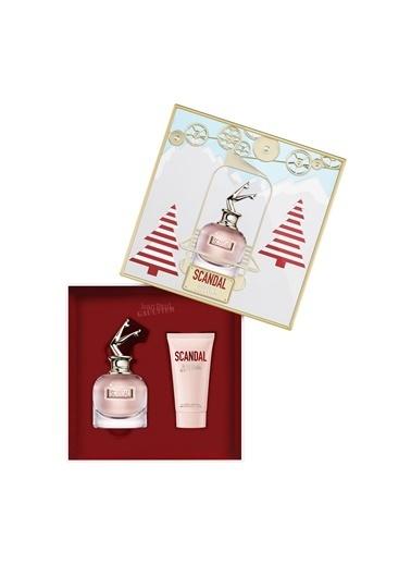 Jean Paul Gaultier Jean Paul Gaultier Scandal EDP 80 ml Kadın Parfüm Seti Renksiz